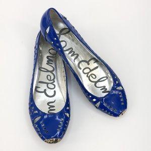 Sam Edelman Cobalt Blue Ballet Flats